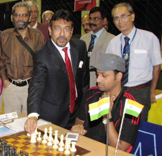 Round 9 inaugurated by Captain Ramaswamy