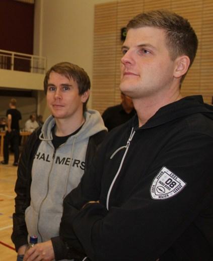 Sigurdur Pall Steindorsson and GM Stefan Kristjansson
