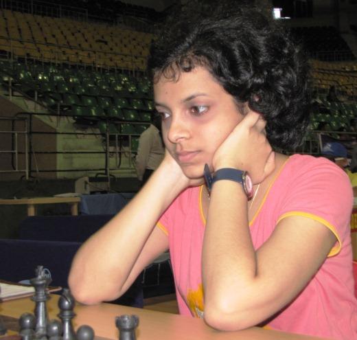 Woman Grandmaster Padmini Rout