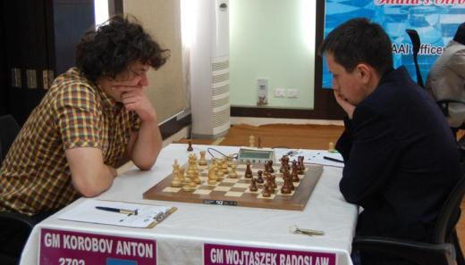 Anton Korobov and Radoslav Wojtaszek
