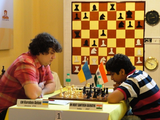 Anton Korobov and Vidit Santosh Gujrathi