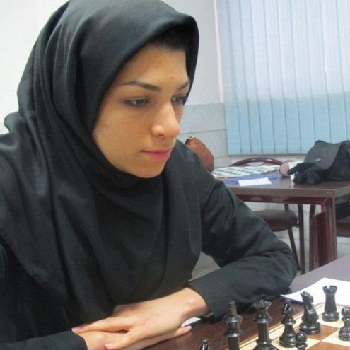 Atousa Pourkashian, six times champion of Iran finished 5th