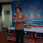 Champion Anton Korobov of Ukraine