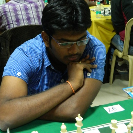 Commonwealth champion GM Lalith Babu