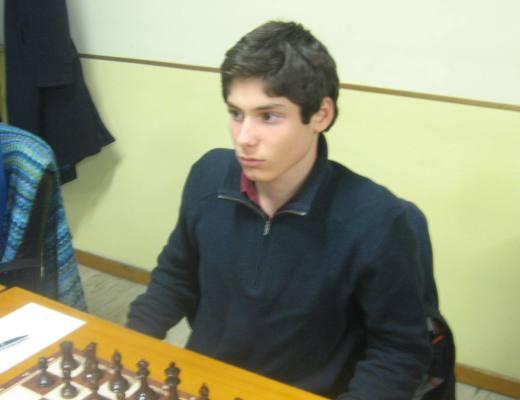 FM Francesco Rambaldi, 13 years old, elo 2308