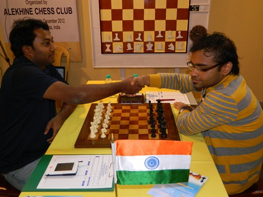 GM Arun Prasad vs GM Abhijeet Gupta