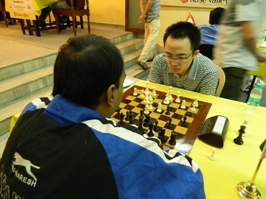 GM Ni Hua beat Vikrmaditya Kulkarni