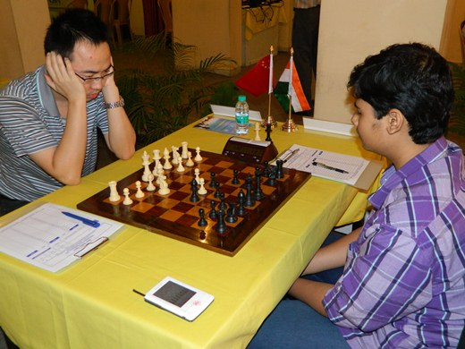 GM Ni Hua vs FM Shardul Gagare