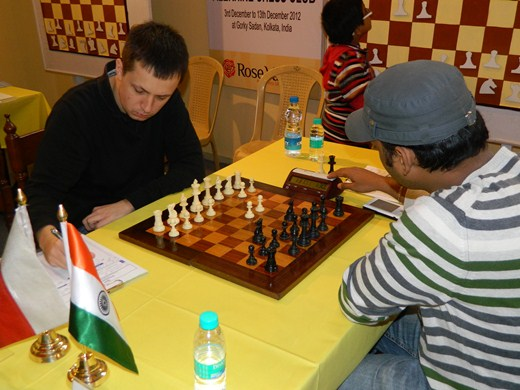 GM Radoslaw Wojtaszek vs GM M R Ventakesh