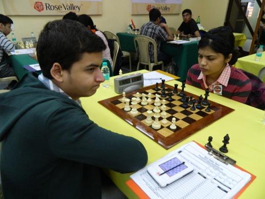 GM Sahaj Grover beat WGM Soumya Swaminathan
