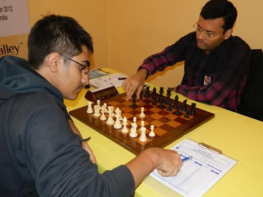 GM Vaibhav Suri vs GM Surya Sekhar Ganguly
