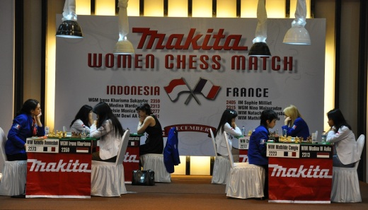 Indonesia girls draw France in third round of classical games