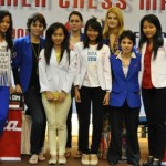 Indonesian and French players in group photo