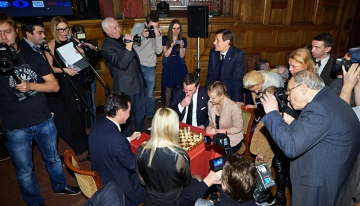 Kaissa Chess Awards in the Central House of Literature