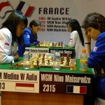MAKITA Women Match Indonesia - France 1