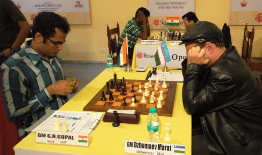 Marat Dzhumaev defeated G N Gopal