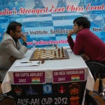 Match between Abhijeet Gupta & Parimarjan Negi