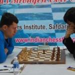 Match between Alekseev & Negi