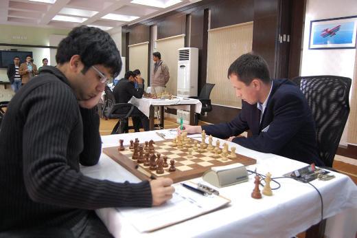 Parimarjan Negi and Radoslav Wojtaszek