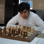 Parimarjan Negi during his match against Anton Korobov