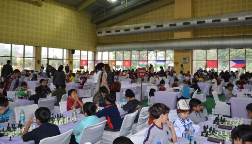 8th Asian Schools Chess Championship 2012 Playing Hall