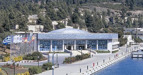 Porto Carras playing hall