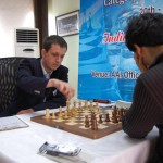 Radoslaw making the move against Negi