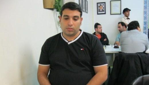 Sayyed Hossein Daneshpour - The winner of the tournament