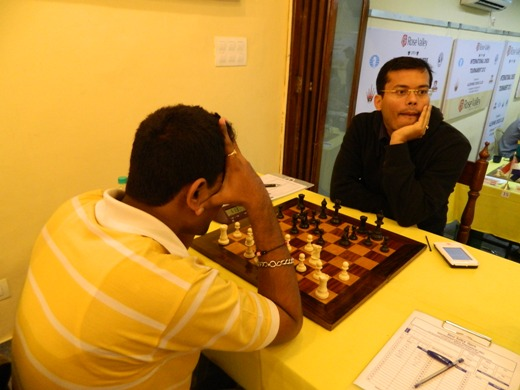 Shreyash Shah lost to GM Surya Sekhar Ganguly