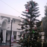 The venue gearing up for X'mas celebrations