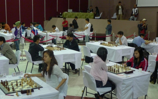 Asian Zone 3.3 Championships playing hall