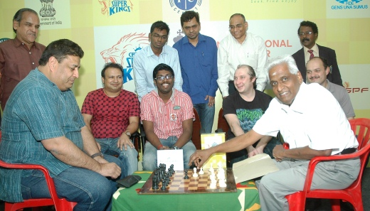 Chennai Super Kings 5th International Grandmaster chess tournament 2013