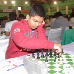 Diptayan Ghosh held top seed GM Abhijeet Gupta on 8th round