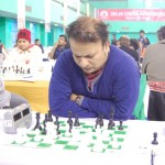 Evergreen Niaz Murshed who beat top seed Abhijeet Gupta