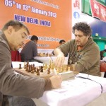 GM Aleksej Aleksandrov and GM Czebe Attila