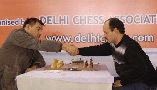 GM Aleksej Aleksandrov and GM Marat Dzhumaev