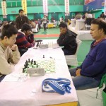 GM Lu Shanglei and GM Niaz Murshed