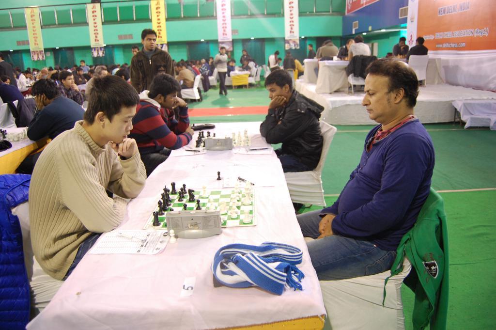 GM Lu Shanglei and GM Niaz Murshed