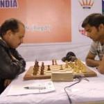 GM Marat Dzhumaev and IM Swapnil Dhopade