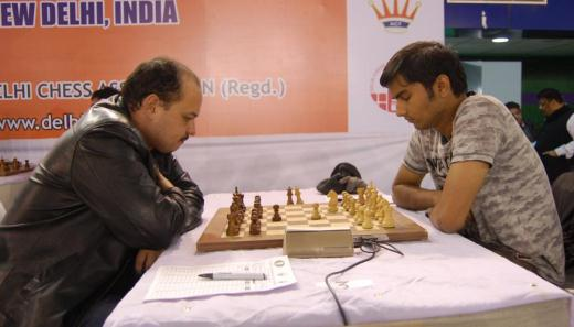 GM Marat Dzhumaev and IM Swapnil Dhopade