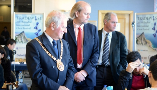 Gibraltar's Mayor Tony Lima visit