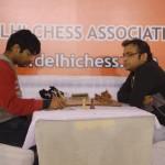 IM Ashwin Jayaram and GM Abhijeet Gupta