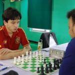 IM Vakhidov Jahongir of Uzbekistan and GM Niaz Murshed of Bangladesh