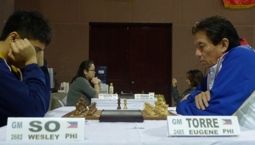 Wesley So and Eugenio Torre