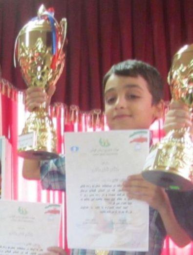 Amirreza Shokrani (U10 Boys Champion)