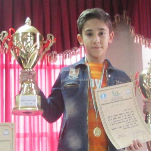 Arian Gholami (U12 Boys Champion)