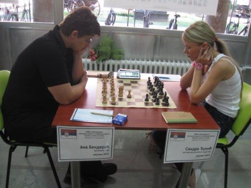 Ana Benderac and Sandra Djukic