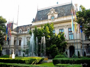 City Hall in Iasi, Romania