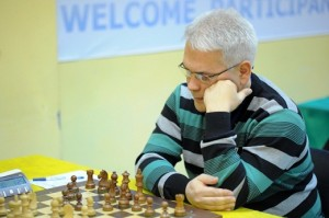GM Ildar Ibragimov lost in a fierce struggle