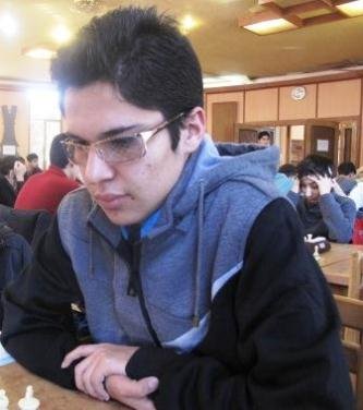 Masoud  Mosadegpoor (U16 Boys Champion)